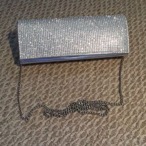 Handbags - Sparkly Rhinestone Clutch